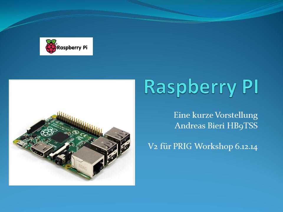 Raspberry PI Vortrag V07_001