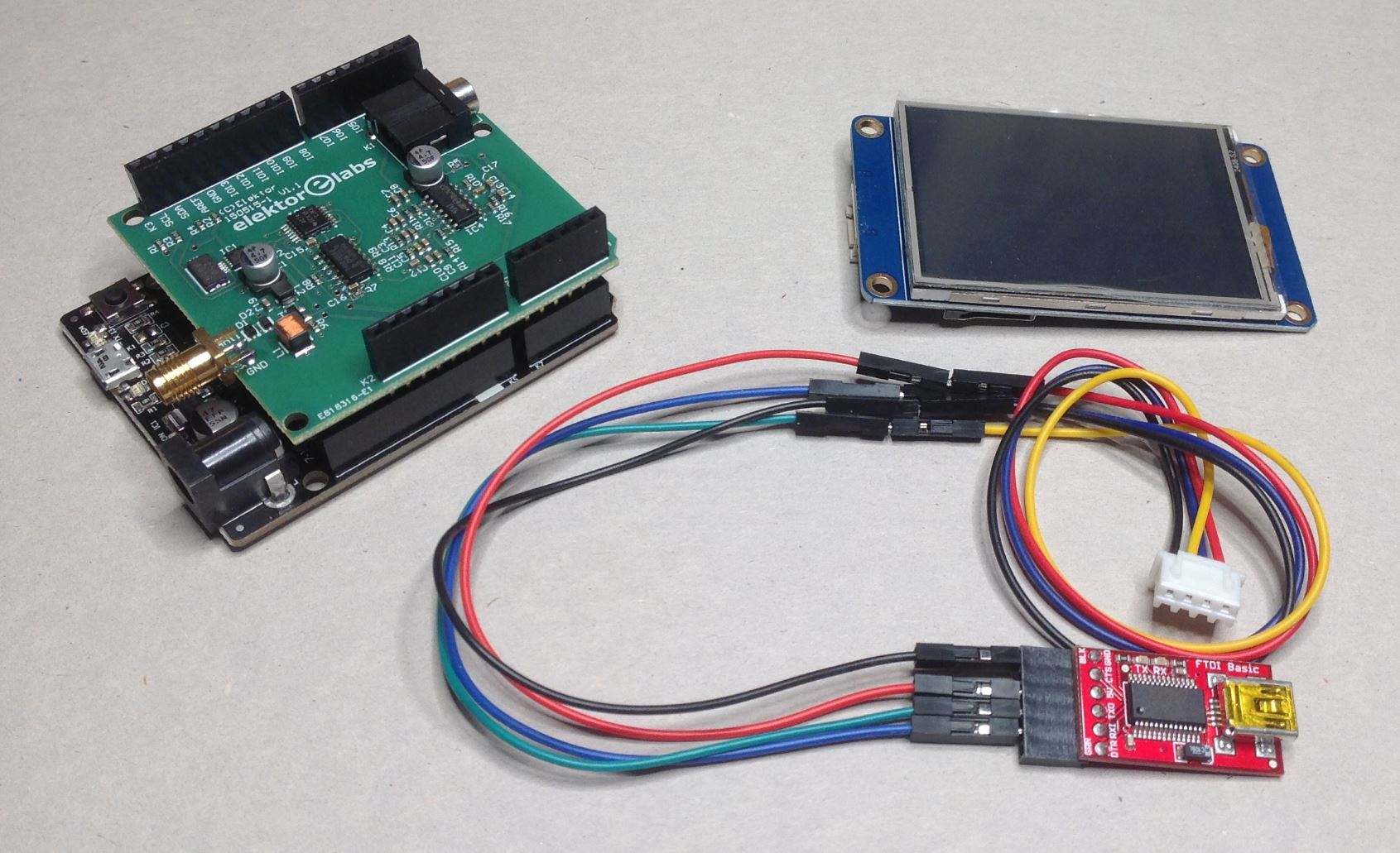 How to connect ws2812b to arduino